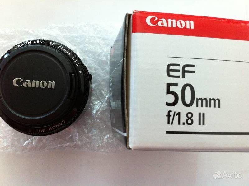 Объектив Canon EF 50 mm f 1.8 II. Оренбургская область,  Оренбург