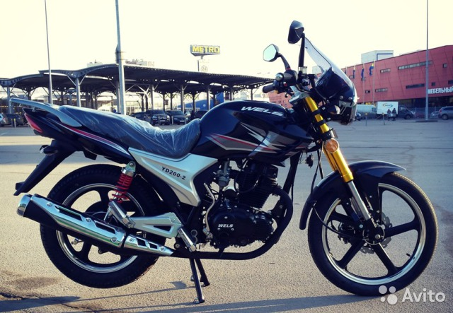 Мотоцикл Wels Gold classic 2 cc 4т - Магазин МОПЕДОФФ