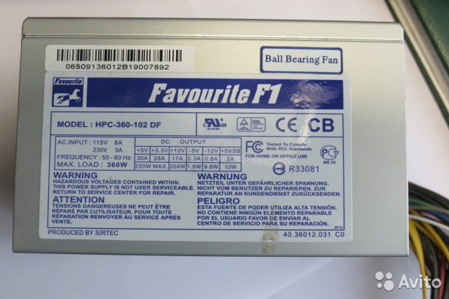 F1 HPC-360-102 DF 360W