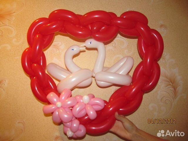 Как сделать сердечко из шарика-колбаски - Nvsibirsk.ru