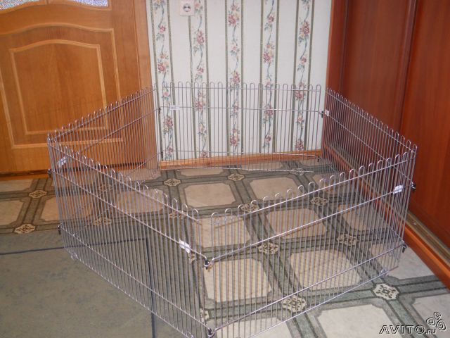 Вольер для кроликов в квартире