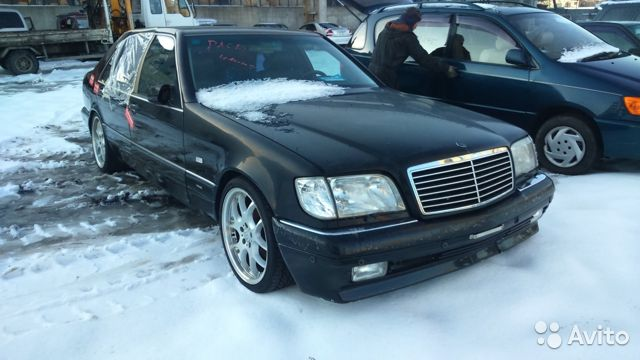 Story from the real owner of mercedes-benz s-class (w140) - parts