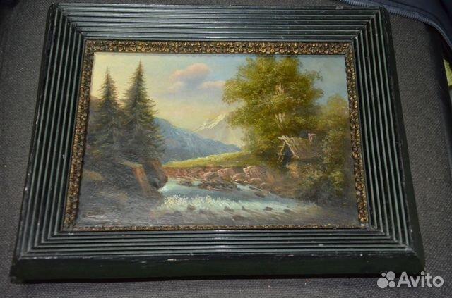 мхом выбираем авито москва старинная картина купить в москве потрясающего