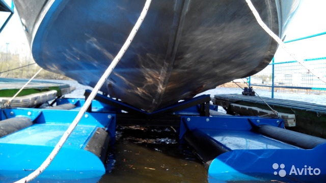 Судоподъемник для хранения катера своими руками 98