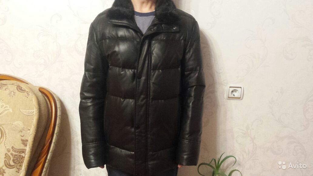 c85ad6f17f21 Зимняя натуральная кожаная куртка   Festima.Ru - Мониторинг объявлений