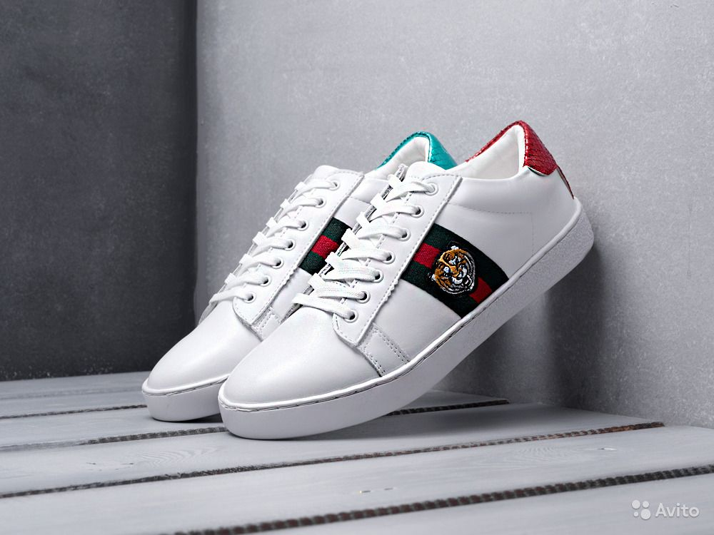 75ee6097 Кроссовки Gucci Ace Embroidered (39-42 размеры) | Festima.Ru ...