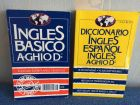 English - Spanish dictionary + conversation book