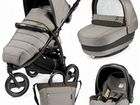 Коляска Peg-Perego Book Cross (3 в 1) (Luxe Grey)