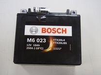 Аккумулятор для квадроцикла bosch AGM 0092M60230 — Запчасти и аксессуары в Санкт-Петербурге