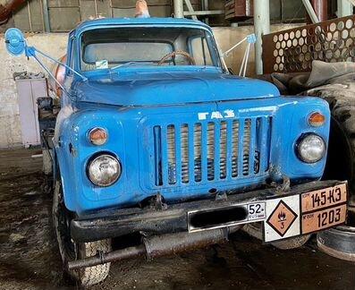 Газ 5312-3613 1989 гв топливозаправщик объявление продам