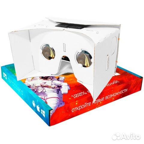3d очки Google cardboard для смартфона купить в Тюменской области на ... 786e5e3ca5952