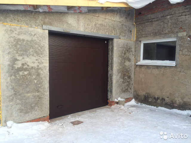 Ворота гаражные подъемные секционные цены в Камбарке