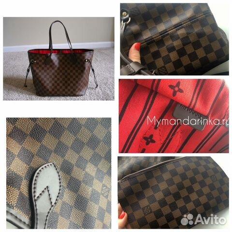 Сумка Louis Vuitton neverfull mm качество оригинал купить в Москве ... bb4684608db