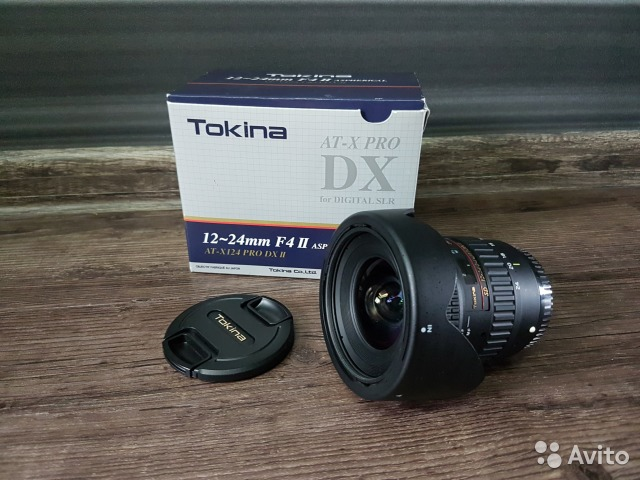 Tokina AT-X 124 PRO DX II Canon EF