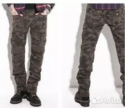 Камуфляжные джинсы с доставкой
