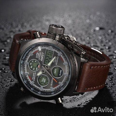 Оригинальные мужские часы amst