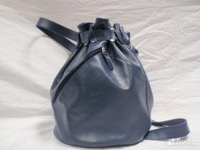 c0748b091900 Кожаный рюкзак-торба ручной работы улто-1 Россия купить в Москве на ...