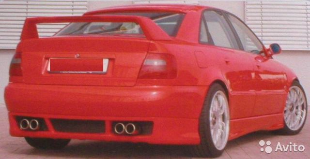 спойлер арка Audi A4 B5 ауди а4 б5 транспорт запчасти и