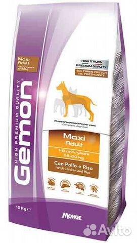 Корм для собак Gemon (Гемон) 20кг — Товары для животных в Москве