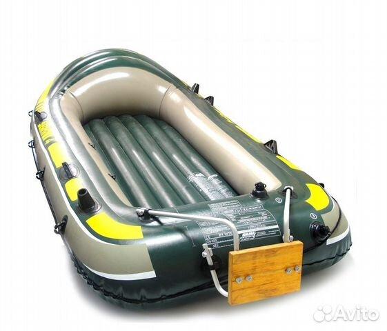 электромотор для надувной лодки установка