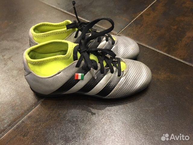 553e6028 Футбольные бутсы,сороконожки Adidas,33 размер | Festima.Ru ...