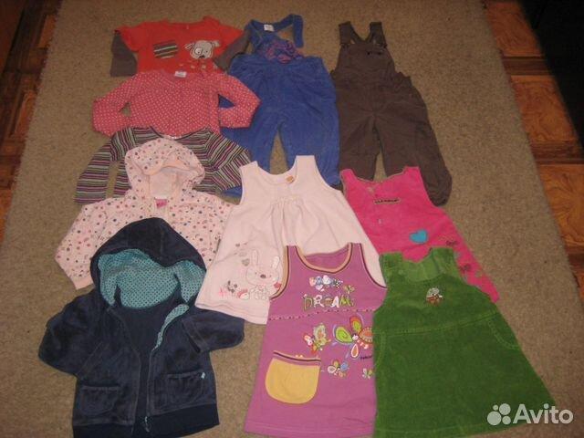 249d23307af72 Одежда на девочку 80-92 р + обувь на весну, лето купить в Санкт ...
