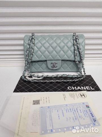 d71df8ae2041 Сумка Chanel Flap 2.55 Jumbo Шанель Кожа 30 см | Festima.Ru ...
