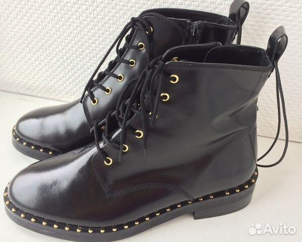 56e036c14a5d Новые кожаные ботинки Reserved женские   Festima.Ru - Мониторинг ...