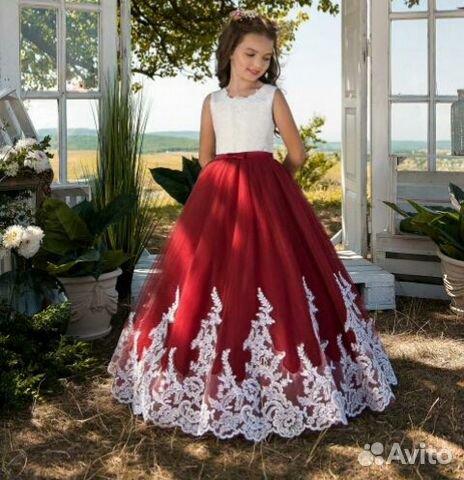 14531259d Детские нарядные пышные платья купить в Ульяновской области на Avito ...