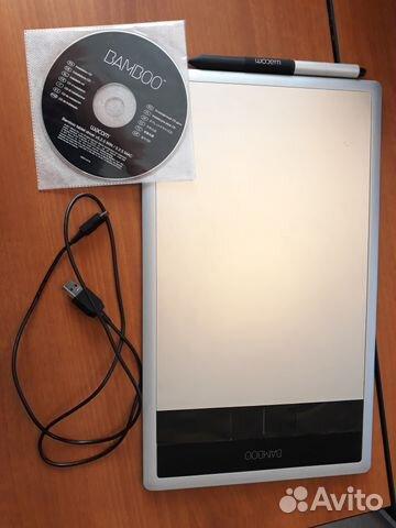 Wacom bamboo CTH-670 графический планшет   Festima Ru