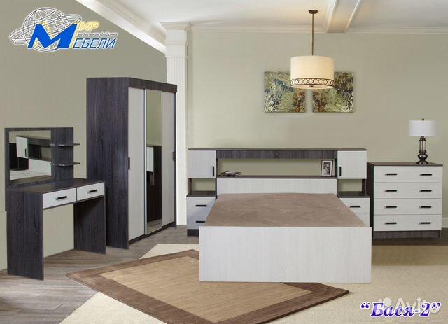 спальный гарнитур бася 2 купить в тульской области на Avito
