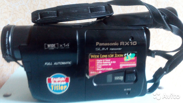 Видеокамера Panasonic 89655693824 купить 1