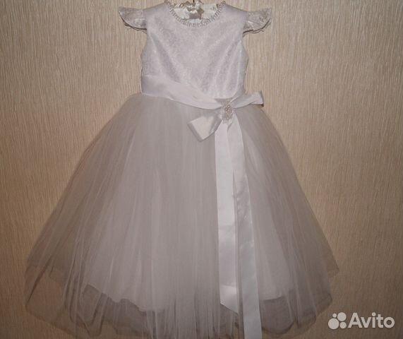 36bd666abd2 Бальное платье Белое купить в Москве на Avito — Объявления на сайте ...