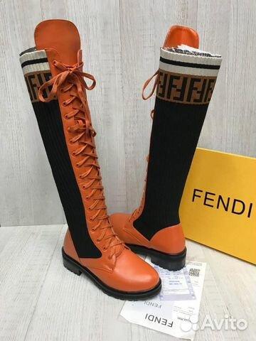 d9cc5fadf Сапоги Fendi высота 43 см Еврозима | Festima.Ru - Мониторинг объявлений