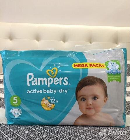 Подгузники Pampers Active Baby-Dry 5 (110шт)   Festima.Ru ... 70610b3bf66