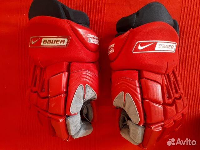 14b4ea41 Хоккейные перчатки nike bauer supreme ONE90 купить в Москве на Avito ...