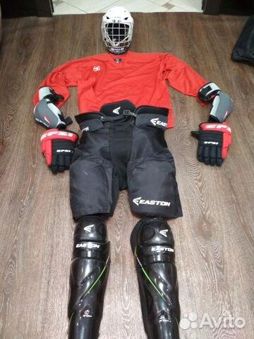 Продам хоккейную форму купить в Кемеровской области на Avito ... cecf0b415b6