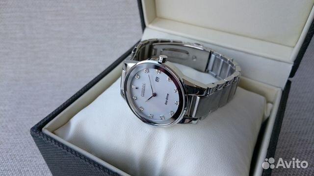Женские часы Citizen ECO drive J015-S095921 89525003388 купить 6