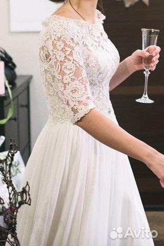 81ad38ea6b6 Свадебное платье и фата купить в Москве на Avito — Объявления на ...