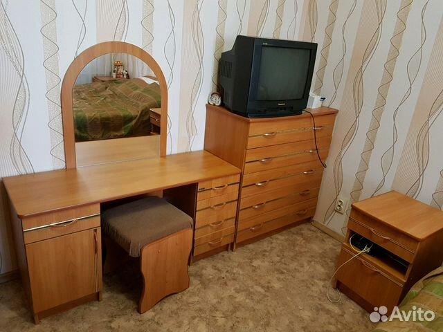 Спальный гарнитур: шкаф, кровать, 2 тумбочки, стол 89534918090 купить 2
