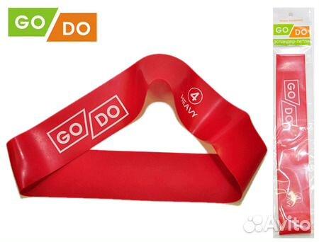 e2286ac797dac Резинки для фитнеса godo №4 сопротивление 18 кг— фотография №1