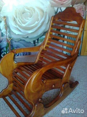 деревянное кресло качалка новое купить в кемеровской области на