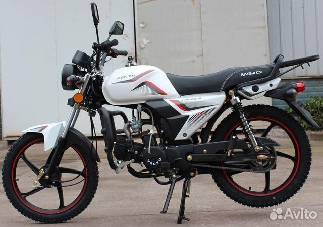 Новый мопед Альфа CX 110