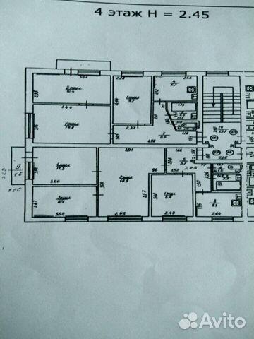 4-к квартира, 62 м², 4/5 эт. 89114784163 купить 1