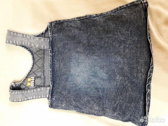 Два сарарафана для девочки(джинсовые) 89230369909 купить 2