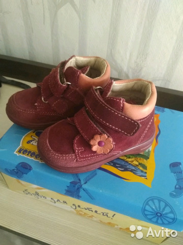 Ботинки для девочки марка котофей 19 размер 89101714197 купить 6