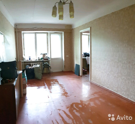 Продается двухкомнатная квартира за 2 200 000 рублей. Московская обл, г Коломна, Окский пр-кт, д 5А.