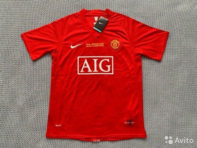 Манчестер юнайтед форма 09 10 красная