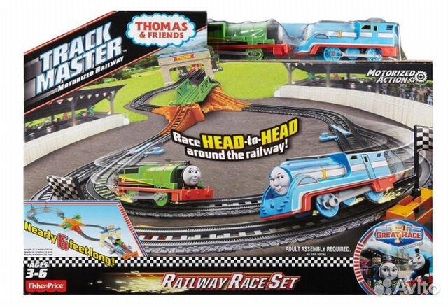 Fisher Price Trackmaster - Thomas & friendsdfm53 89062132153 купить 1