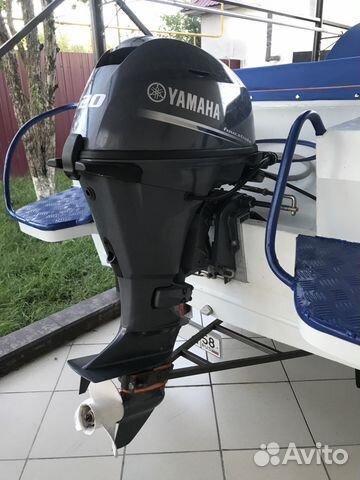 Продам лодочный мотор Yamaha F20 bmhs купить в Пензенской